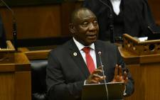 FILE: President Cyril Ramaphosa delivered his State of the Nation Address on 20 June 2019. Picture: EWN.