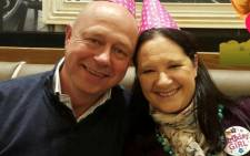Annie and Stephen Brent got married 25 years ago. He was knocked of his motorbike in a shooting incident in Sandton at 22 July 2016, he later succumbed to his injuries. Picture: Supplied