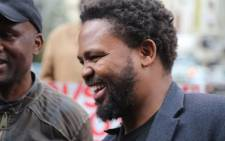 Black First Land First leader Andile Mngxitama. Picture: Christa Eybers/EWN.