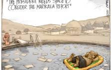 Jacob Zuma & the Marikana Report