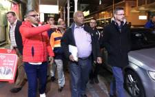 Cape Town Mayor Dan Plato during his walkabout in Long Street on 10 July 2019. Picture: Kaylynn Palm/EWN