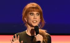 FILE: Kathy Griffin performing in California in 2016. Picture: AFP.