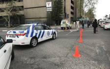 FILE: Roads leading into the Bellville taxi rank were temporarily closed following a shooting. Picture: Monique Mortlock/EWN.