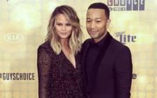 FILE: Chrissy Teigen and husband John Legend. Picture: John Legend via Instagram.
