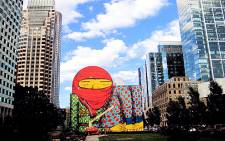 Os Gemeos. Picture: Supplied