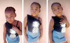Four-year-old Uyathandwa Stuurman. Picture: Lauren Isaacs/EWN.