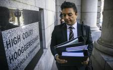 Shrien Dewani's brother Preyen Dewani makes his way into the Western Cape High Court. Picture: Thomas Holder