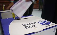 Voting ballot boxes fill up as voters exercise their right to vote on 8 May 2019. Picture: Bertram Malgas/EWN