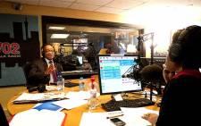 President Jacob Zuma is interviewed by Redi Tlhabi on 23 July 2012