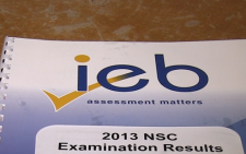 FILE: The Independent Examinations Boards (IEB) class of 2013 achieved a pass rate of 98,6%.