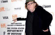 "Filmmaker Michael Moore attends the ""Where to Invade Next"" premiere during the 2015 Toronto International Film Festival at the Princess of Wales Theatre on September 10, 2015 in Toronto, Canada. Picture: AFP."