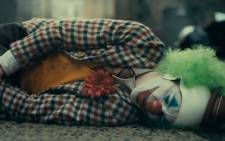 A screengrab of Joaquin Phoenix in the trailer for 'Joker'.