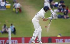 England's Joe Denly plays a shot during the fourth day of the first Test cricket match between South Africa and England at The SuperSport Park stadium at Centurion near Pretoria on 29 December 2019. Picture: AFP