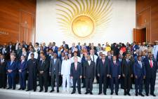 Secretary-General António Guterres (centre) attends the opening ceremony of the 30th Ordinary Session of the Assembly of the African Union. Picture: United Nations Photo.