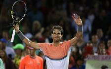 Rafael Nadal is through to the last eight of the Sony Open in Miami. Picture: Facebook.