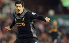 Liverpool striker Luis Suarez. Picture: AFP