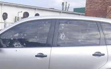 Mlungisi Thabethe was driving towards the Hambanathi township near Tongaat in KwaZulu-Natal when he was ambushed in a hail of bullets by unknown suspects on Thursday, 1 April 2021. Picture: Supplied.