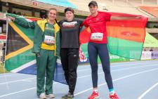 Miné De Klerk Flag of South Africa sets an African U20 record with 53.50m World Athletics U20 World Championships in Nairobi, 20 August 2021. Picture: @WorldAthletics/Twitter.