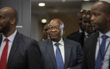 Former President Jacob Zuma at the state capture commission of inquiry on Tuesday 17 July 2019. Picture: Abigail Javier/EWN