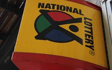 National Lottery logo. Picture: Taurai Maduna/EWN