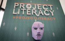 Project Literacy seeks to curb illiteracy. Picture: Reinart Toerien/EWN.