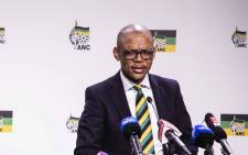 FILE:  Pule Mabe says the party's national executive committee may deliberate over Jacob Zuma's statement during a scheduled meeting on 12 February. Picture: EWN