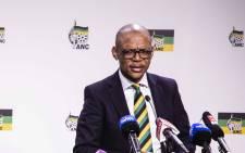 ANC spokesperson Pule Mabe. Picture: Ihsaan Haffajee/EWN