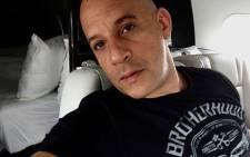 American actor Vin Diesel. Picture: Vin Diesel Facebook page.