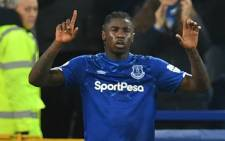 FILE: Everton midfielder Moise Kean celebrates scoring the opening goal during the English Premier League football match between Everton and Newcastle United at Goodison Park in Liverpool, northwest England on January 21, 2020. Picture: AFP