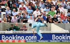 Ben Stokes takes a one-handed catch South Africa in their 2019 ICC Cricket World Cup match at the Oval on 30 May 2019. Picture: @cricketworldcup/Twitter