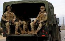 Lebanese army special forces patrol on 5 December 2018 around the southern village of Kfar Kila near the border with Israel. Israel had announced on December 4 that it had discovered Hezbollah tunnels infiltrating its territory from Lebanon and launched an operation to destroy them. Picture: AFP