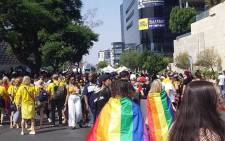 The 30th annual Joburg Gay Pride parade on 26 October 2019. Picture: Bonga Dlulane/EWN