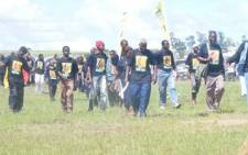 ANC members on their way to a rally in Nongoma in northern KZN. Picture: Narissa Subramoney/Eyewitness News