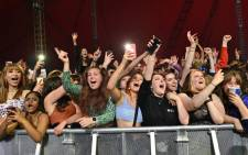 Fans watch Blossom perform at a live music concert hosted by Festival Republic in Sefton Park in Liverpool, north-west England on 2 May 2021. Picture: Paul Ellis/AFP