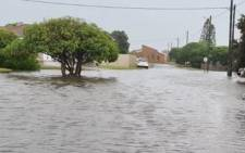 Parts of the Western Cape experienced heavy rain and flooding as a cold front made landfall in the province on 5 May 2021. The town of Struisbaai was one of the areas affected by the flooding. Picture: Supplied