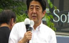 FILE: Japanese Prime Minister Shinzo Abe. Commons Wikipedia