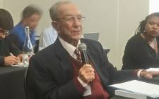 FILE: ANC stalwart Professor Ben Turok. Picture: @IfaaCT/Twitter