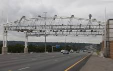 An e-toll gantry on the N1 in Johannesburg. Picture: Christa van der Walt/EWN.