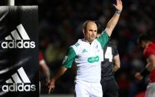 FILE: Rugby referee Jaco Peyper. Picture: AFP