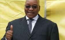 African National Congress leader Jacob Zuma celebrates in Durban after corruption charges against him are withdrawn on 7 April 2009. Picture: Narissa Subramoney/Eyewitness News