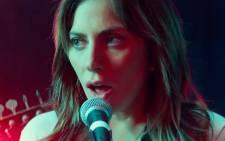 A screengrab of Lady Gaga in 'A Star is born'.