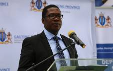 Gauteng Education MEC Panyaza Lesufi opens the Thulasizwe school for autistic learners in Soweto.  Picture: Christa Eybers/EWN