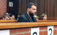 FILE: Christopher Panayiotou in the Port Elizabeth Magistrates Court. Picture: Siyabonga Sesant/EWN