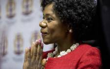Outgoing Public protector Thuli Madonsela thanks the media during her last press briefing as the country's public protector in Pretoria on 14 October 2016. Picture: Reinart Toerien/EWN
