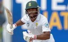 Proteas batsman Temba Bavuma takes a quick single. Picture: @OfficialCSA/Twitter