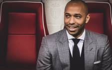 Thierry Henry. Picture: @AS_Monaco_EN/Twitter