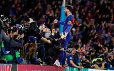 Barcelona captain Lionel Messi celebrate one of the most extraordinary comebacks in European football history to knock Paris St Germain out of the Champions League on 8 March with a 6-1 victory. Picture: Facebook.
