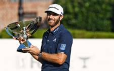 Dustin Johnson celebrates his FedEx Cup win on 7 September 2020. Picture: @PGATOUR/Twitter
