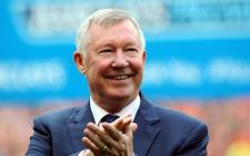 Former Manchester United manager Sir Alex Ferguson. Picture: EPA.