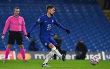 Chelsea's Italian midfielder Jorginho shoots from the penalty spot to score his team's equalising goal during the UEFA Champions League Group E football match between Chelsea and FK Krasnodar at Stamford Bridge in London on December 8, 2020. Picture: AFP